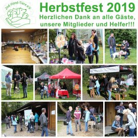 Herbstfest 2019 – Wir sagen Danke!